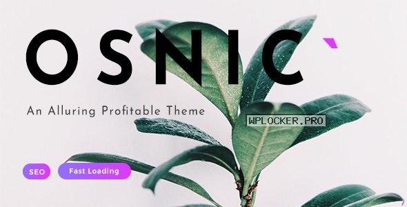 Osnic v1.8.5 – Adsense WordPress Theme