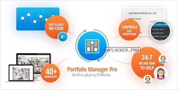 Portfolio Manager Pro v3.2 – Responsive Portfolio & Gallery
