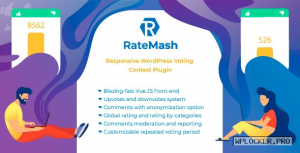 RateMash v1.0.0 – Responsive WordPress Voting Contest Plugin