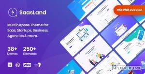 SaasLand v3.3.5 – MultiPurpose Theme for Saas & Startup