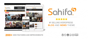 Sahifa v5.7.6 – Responsive WordPress News, Magazine
