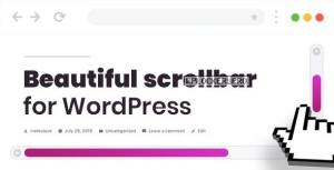 Scroller v2.0.0 – Custom Scrollbar for WordPress