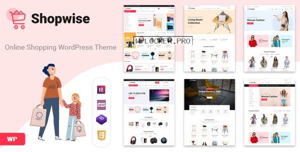 Shopwise v1.4.9 – Fashion Store WooCommerce Theme