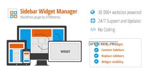 Sidebar & Widget Manager v4.3