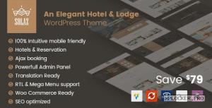 Solaz v1.2.2 – An Elegant Hotel & Lodge WordPress Theme