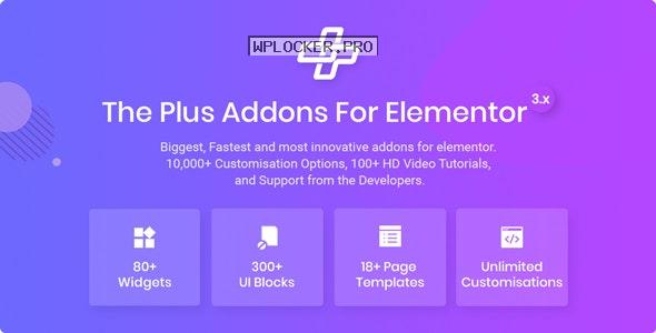 The Plus v4.1.12 – Addon for Elementor Page Builder WordPress Plugin
