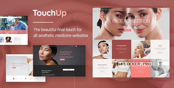 TouchUp v1.2 – Cosmetic and Plastic Surgery Theme
