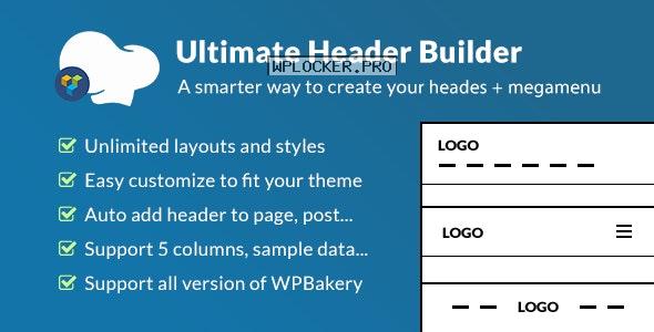 Ultimate Header Builder v1.7.3 – Addon WPBakery Page Builder
