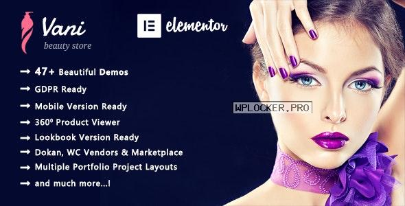 Vani v2.0.8 – Cosmetic Beauty WooCommerce WordPress Theme