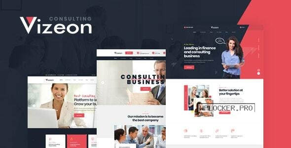Vizeon v1.0.2 – Business Consulting WordPress Themes