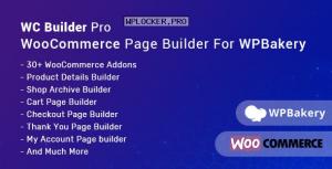 WC Builder Pro v1.0.8 – WooCommerce Page Builder for WPBakery