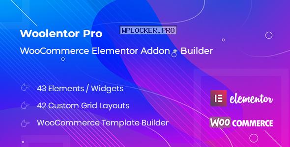 WooLentor Pro v1.6.6 – WooCommerce Elementor Addons nulled