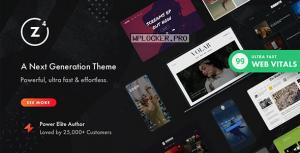 Zeen v4.0.6 – Next Generation Magazine WordPress