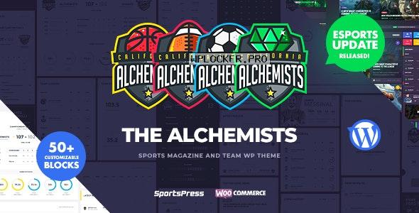 Alchemists v4.4.4 – Sports, eSports & Gaming Club and News WordPress Theme