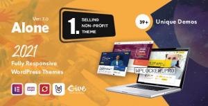 Alone v7.0 – Charity Multipurpose Non-profit WordPress Theme