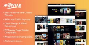 AmyMovie v3.5.2 – Movie and Cinema WordPress Theme