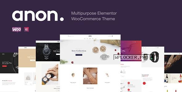 Anon v2.0.3 – Multipurpose Elementor WooCommerce Theme
