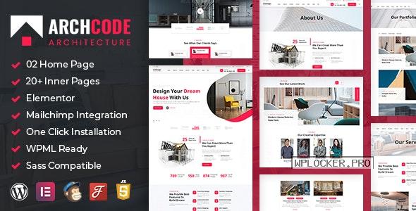 Archcode v1.1 – Architect Design WordPress Theme