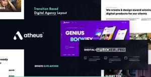 Atheus v1.1.0 – Modern Creative Agency WordPress Theme
