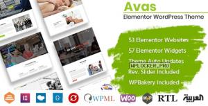 Avas v6.2.5 – Multi-Purpose WordPress Theme