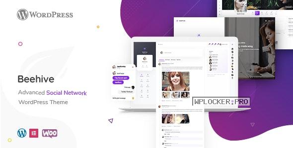 Beehive v1.4.1.1 – Social Network WordPress Theme