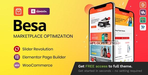 Besa v1.3.3 – Elementor Marketplace WooCommerce Theme