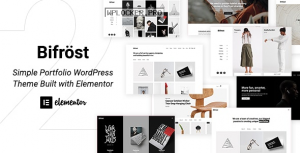 Bifrost v2.2.1 – Simple Portfolio WordPress Theme