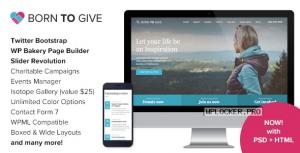 Born To Give v2.8.1 – Charity Crowdfunding Responsive WordPress Theme