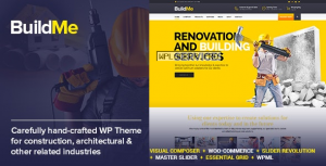 BuildMe v4.8 – Construction & Architectural WP Theme