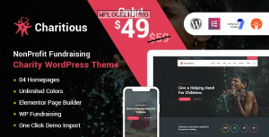 Charitious v2.9 – NonProfit Fundraising Charity Theme