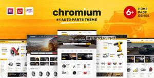 Chromium v1.3.25 – Auto Parts Shop WordPress Theme