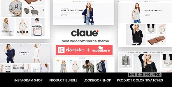 Claue v2.1.4 – Clean, Minimal WooCommerce Theme