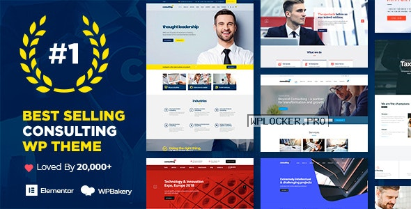 Consulting v6.1.4 – Business, Finance WordPress Theme