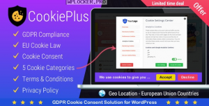 Cookie Plus v1.5.9 – GDPR Cookie Consent Solution