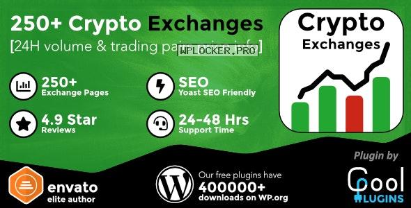 Cryptocurrency Exchanges List Pro v2.3 – WordPress Plugin