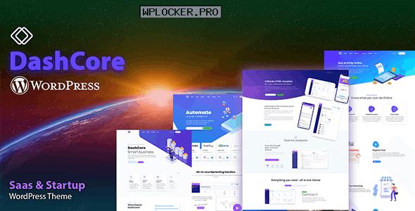 DashCore v1.0 – Startup & Software WordPress Theme