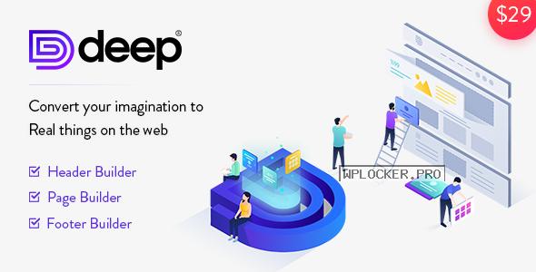 Deep v4.5.6 – Creative Multi-Purpose WordPress Theme