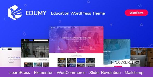 Edumy v1.2.1 – LMS Online Education Course WordPress Theme