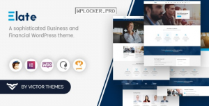 Elate v1.4.1 – Financial Consulting WordPress Theme