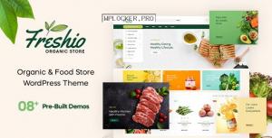 Freshio v1.9.2 – Organic & Food Store WordPress Theme