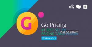Go Pricing v3.3.19 – WordPress Responsive Pricing Tables