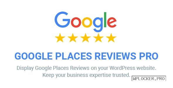 Google Places Reviews Pro v2.4.2 – WordPress Plugin