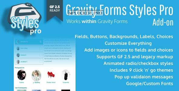 Gravity Forms Styles Pro Add-on v2.7.3