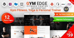 Gym Edge v4.2.3 – Gym Fitness WordPress Theme