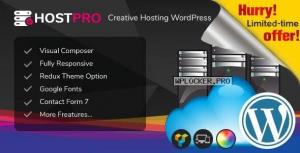 Hostpro v1.0 – Responsive Hosting WHMCS WordPress Theme