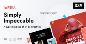 Impeka v1.1.3 – Creative Multi-Purpose WordPress Theme