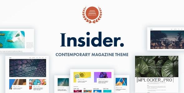 Insider v1.5 – Contemporary Magazine and Blogging Theme