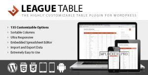 League Table v2.13