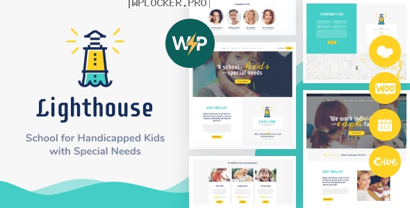 Lighthouse v1.2.3 – School for Handicapped Kids with Special Needs WordPress Theme