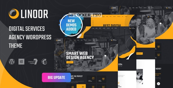 Linoor v1.4.2 – Digital Agency Services WordPress Theme